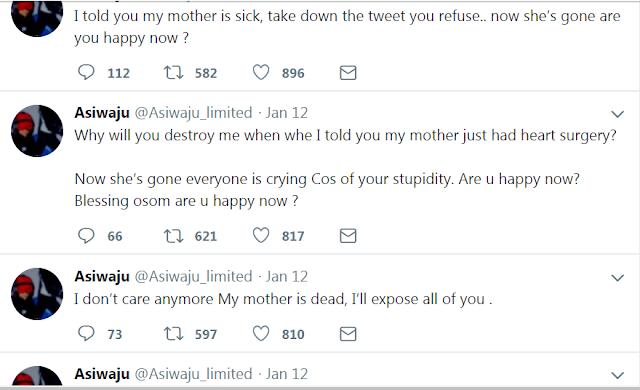 asiwaju tweets