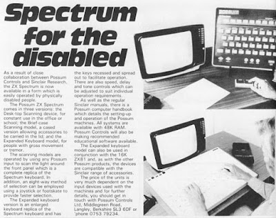 A black and white image of a Possum ZX Spectrum and expanded keyboard.