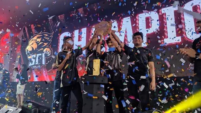 Sukses rebut kejuaraan tim SFI Zet Hades kantongi 250 Juta