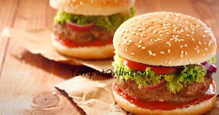 beef burger enak lezat