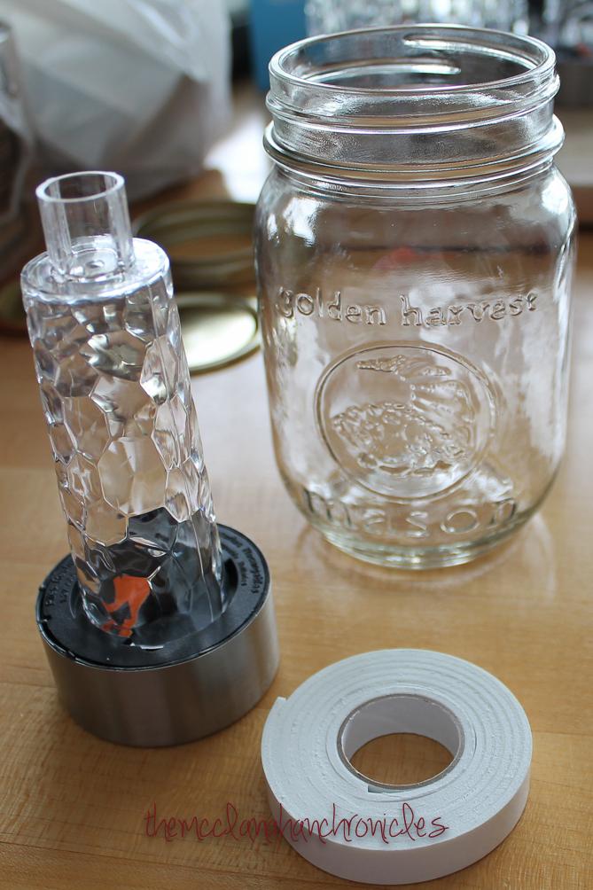 Diy Solar Mason Jar Lantern The Mcclanahan Chronicles