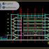 مخطط مشروع فندق (R+4+ss) اوتوكاد dwg