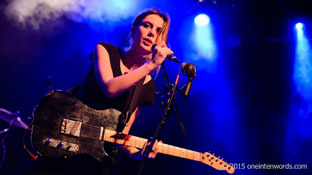Wolf Alice at The Phoenix Concert Theatre in Toronto, December 4, 2015 Photo by John at One In Ten Words oneintenwords.com toronto indie alternative music blog concert photography pictures