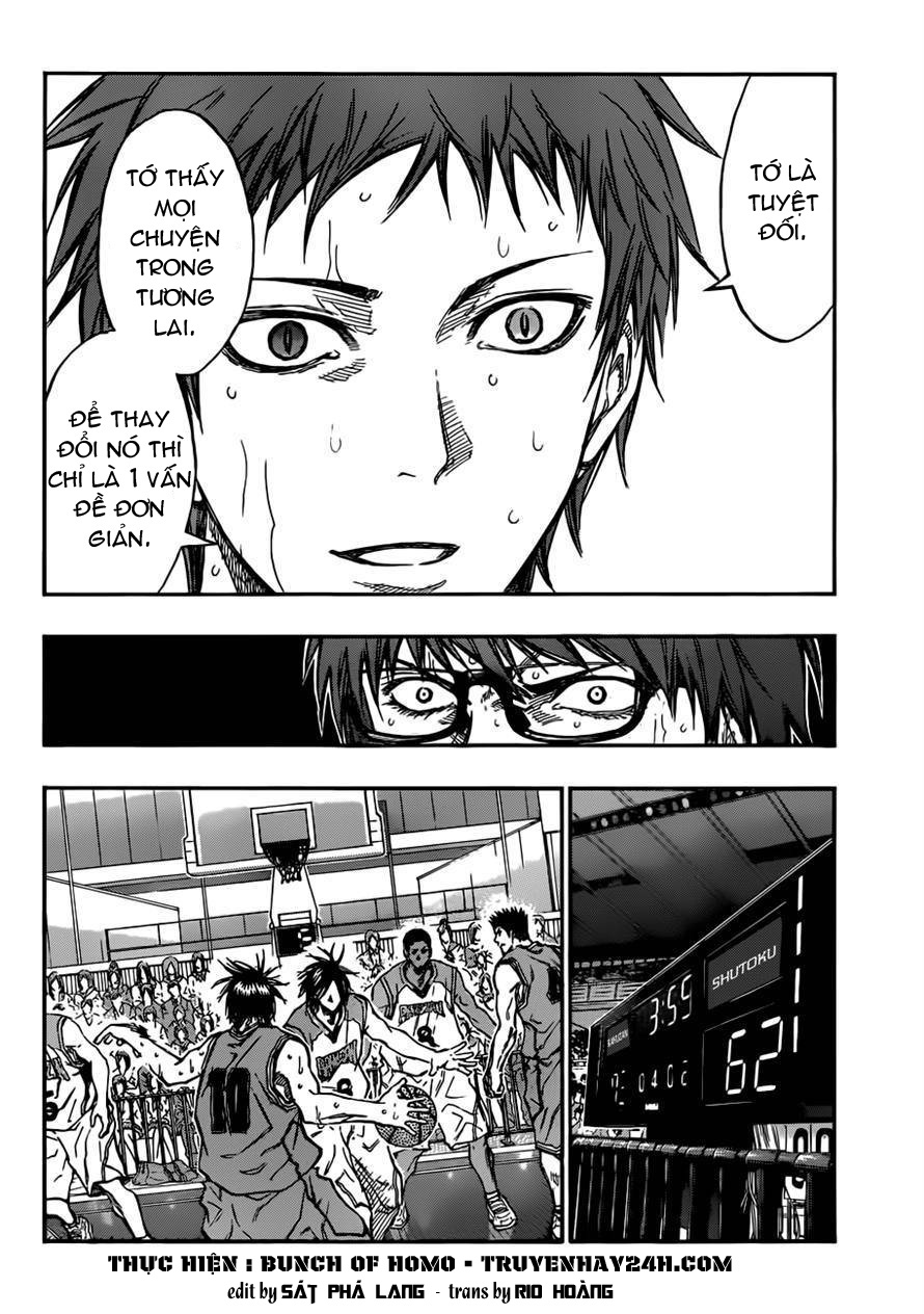 Kuroko No Basket chap 182 trang 2