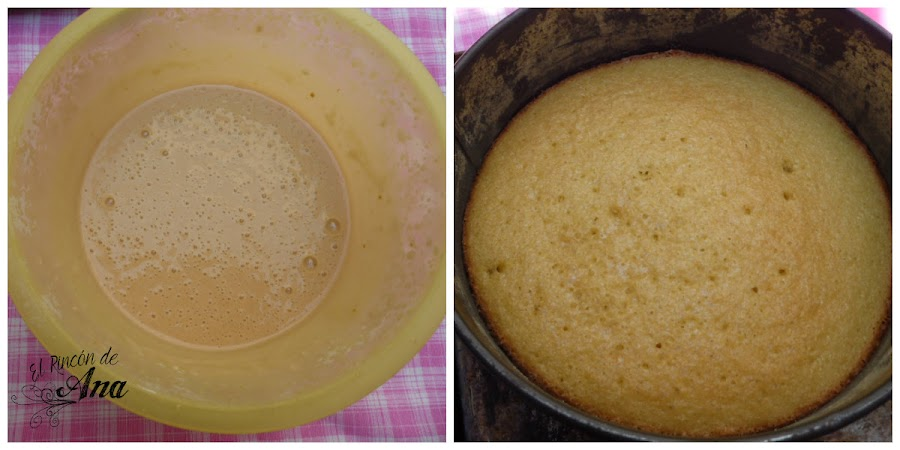 Cake pops de bizcocho de naranja