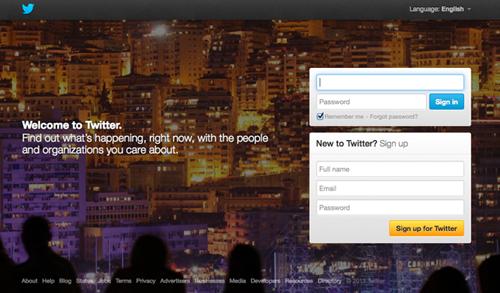 Twitter di Tahun 2013