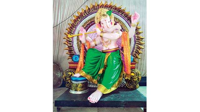 Now, more demand for eco-friendly idols in sarvajanik mandals