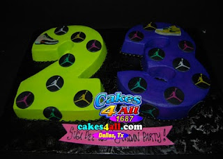 23rd Birthday Jordan Party Cake Dallas Tx
