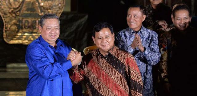 Gerindra: Pertemuan SBY-Prabowo Bahas Plus-Minus AHY Sebagai Cawapres