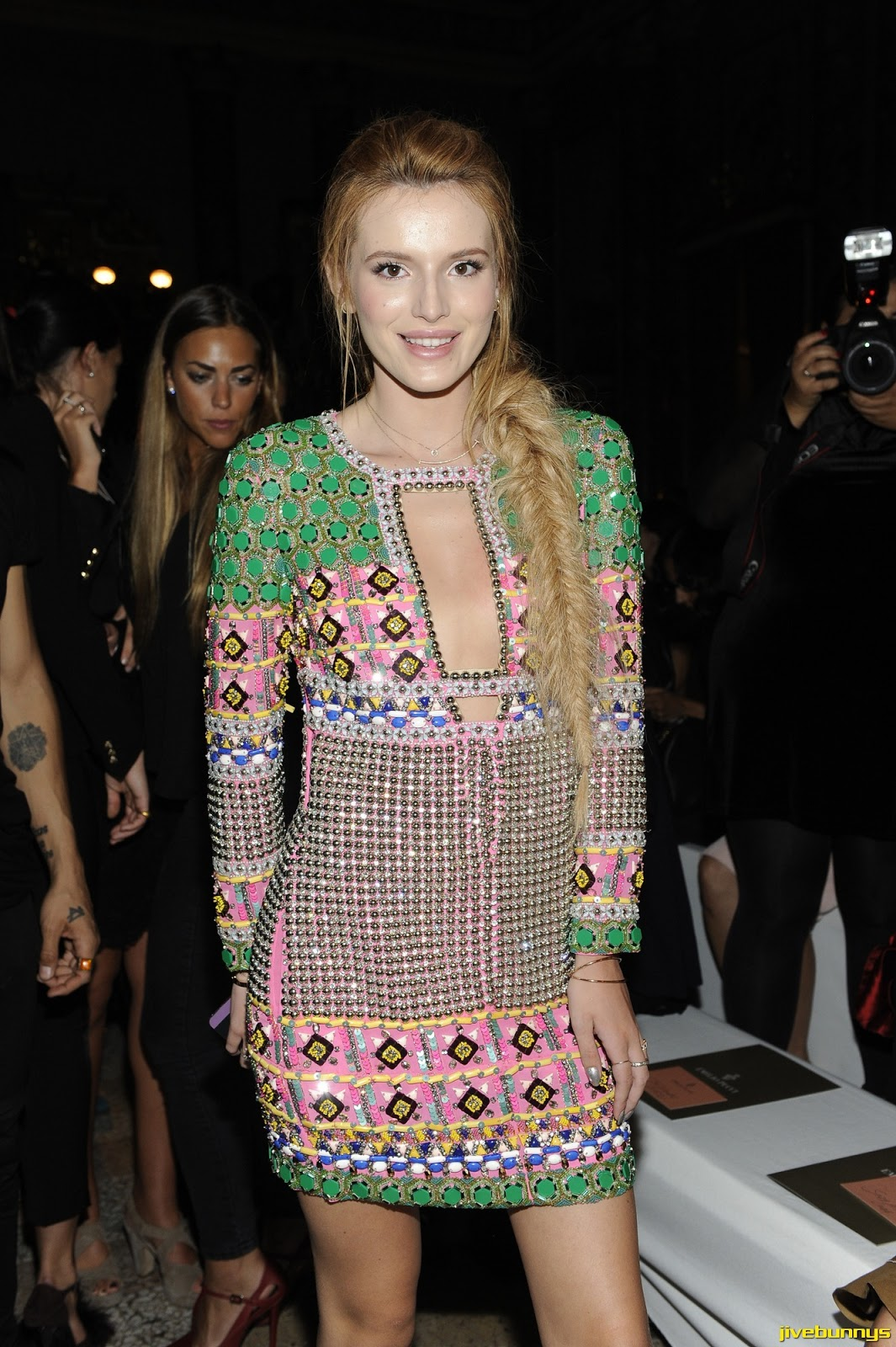 Bella Thorne - Pucci show in Milan 9/20/14
