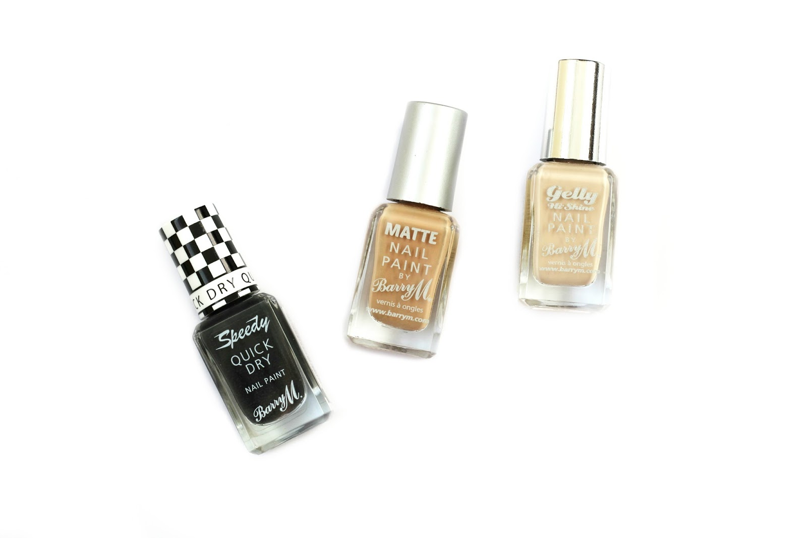 beauty current favourite nails barry m