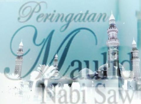 contoh cara buat surat undangan acara Maulid Nabi Muhammad SAW