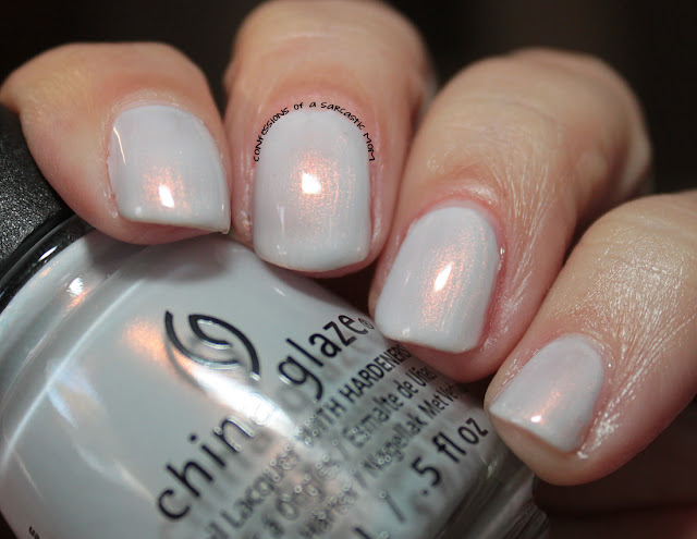 China Glaze Seas and Greetings collection - Snow Way