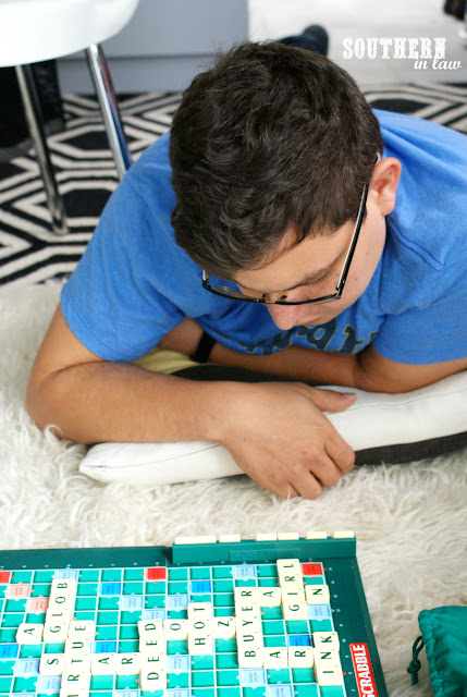 Things to do on a Rainy Day Whilst Traveling - Play Scrabble