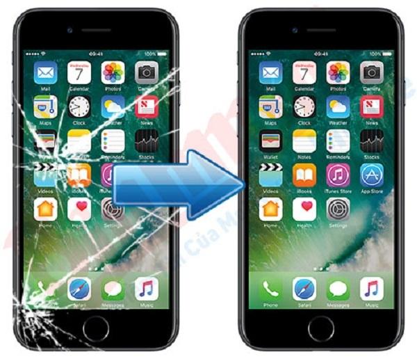 thay mat kinh iPhone 7 gia re