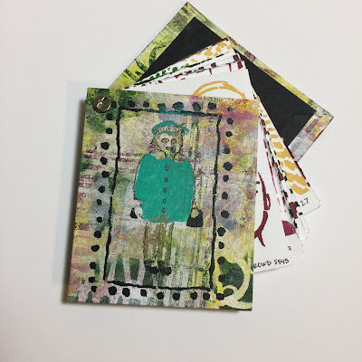 Kiala Givehand StencilGirl Bookbinding
