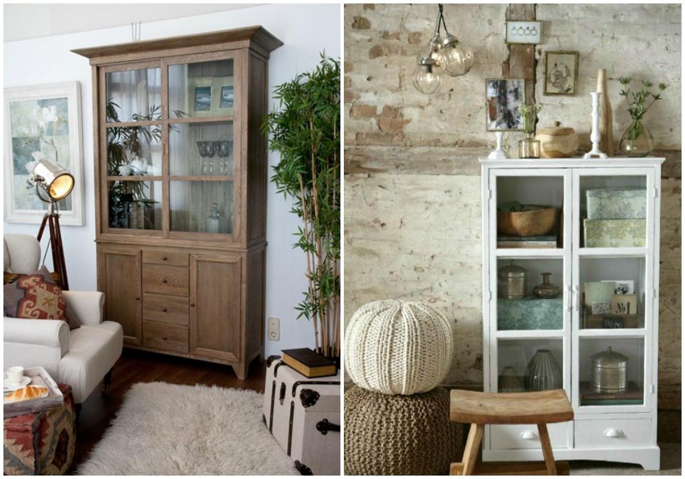 Punto estilo deco vitrinas y modulares en varios estilos for Vitrinas para salon comedor