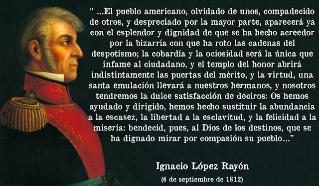 Ignacio López Rayón, héroe de la Independencia de México