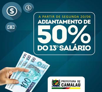 Prefeitura de Camalaú antecipa pagamento do 13º salários