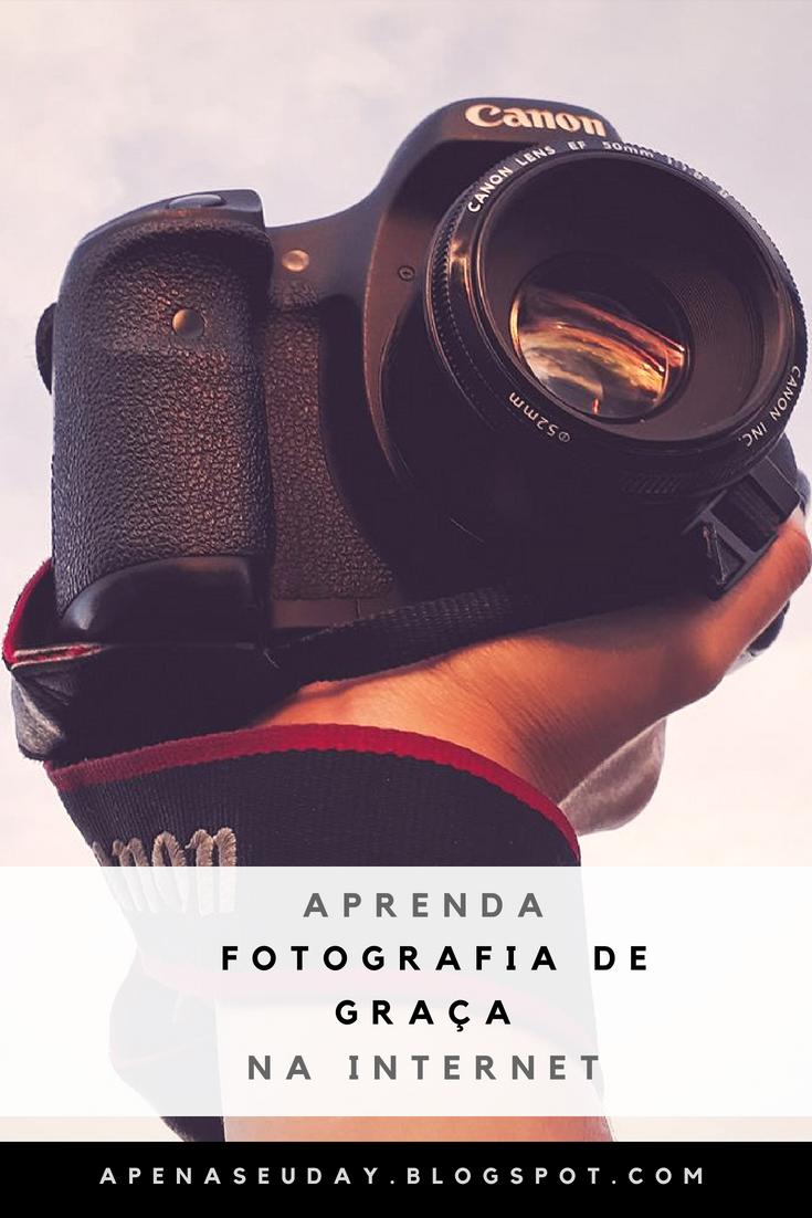 Aprenda fotografia de graça na internet com fotógrafos incríveis. Acesse agora!