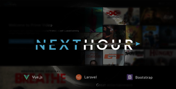 Download Next Hour v1.6 - Movie Tv Show & Video Subscription Portal Cms