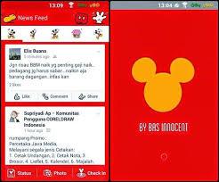 Facebook Mod Mickey Mouse apk