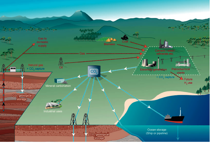 The Low Carbon Future: Carbon Capture and Storage: a brief intro.