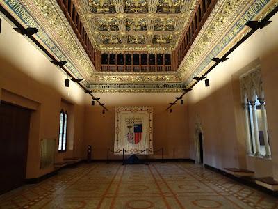 Salón del Trono del Palacio de la Aljafería, Zaragoza