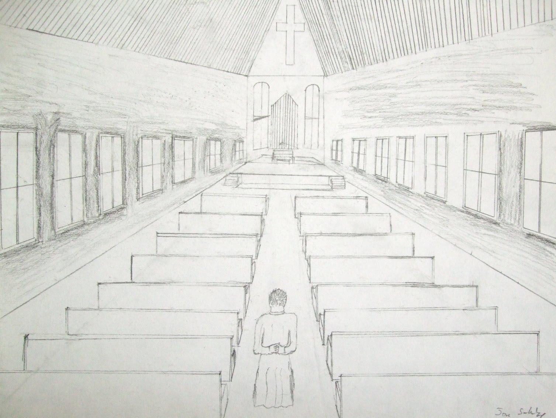 Highschoolart One Point Perspective High School Art
