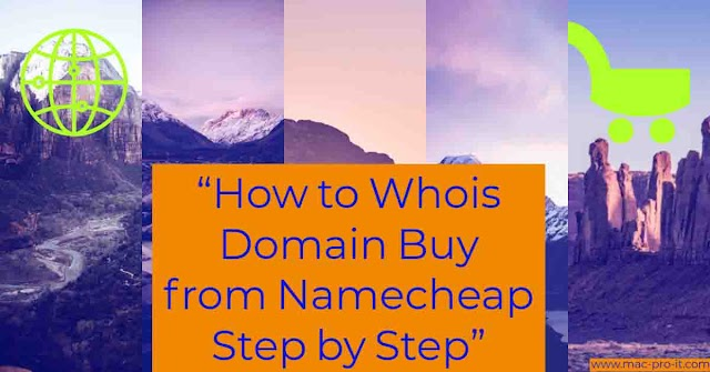How to Whois Domain Buy from Namecheap Step by Step