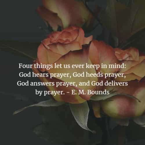 Inspirational power of prayer quotes with images