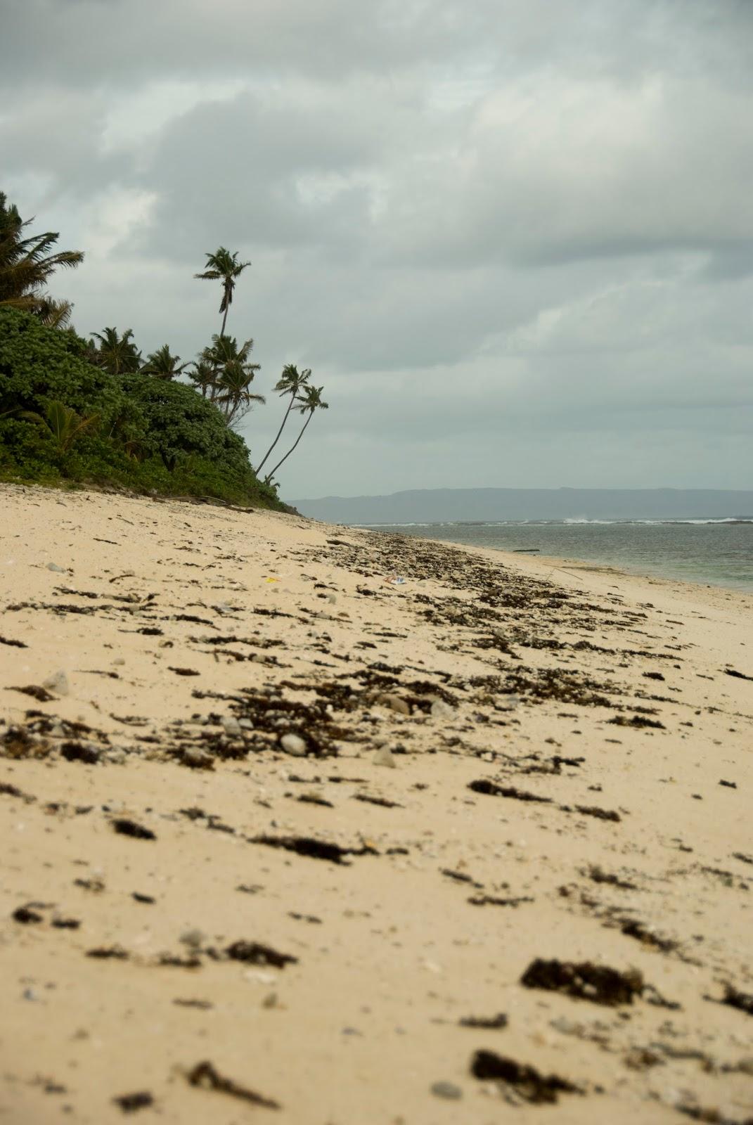 Looking Toward S The Island Of Eua From Pres Nau Beach