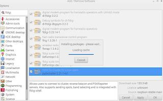 Install WSJT-X and fldigi on Raspberry pi