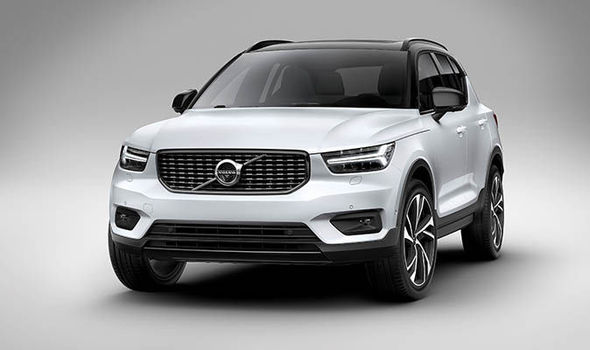 2019 Volvo XC40 hd wallpaper