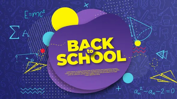 Back to School Intro Opener 28275390 Videohive