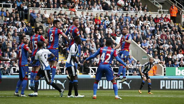 townsend newcastle crystal palace 1-0