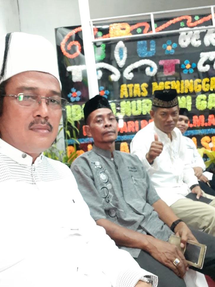 Pengurus PWI Sulsel, Hadiri Tauziyah Malam Ke Dua Almarhumah Hj Nuraini Bin Gani Ottoh