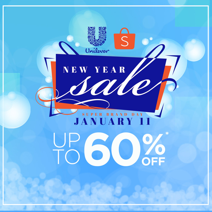 Unilever's Grand New Year Sale at shopee.ph