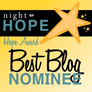 RESOLVE HOPE Award Best Blog Nominee