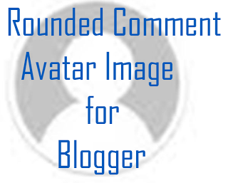 Rounded Comment Avatar Image for Blogger