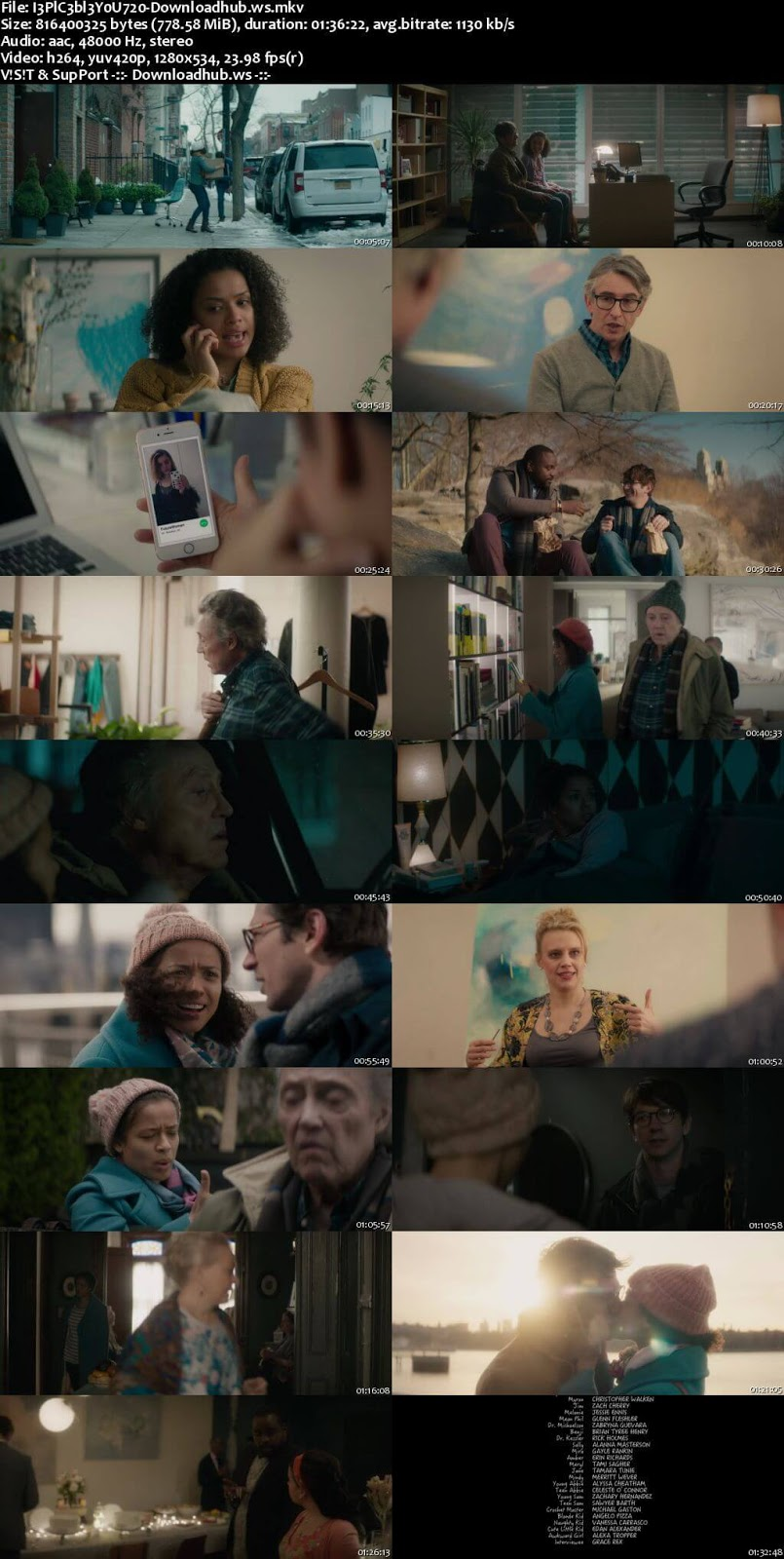Irreplaceable You 2018 English 720p WEBRip 750MB ESubs