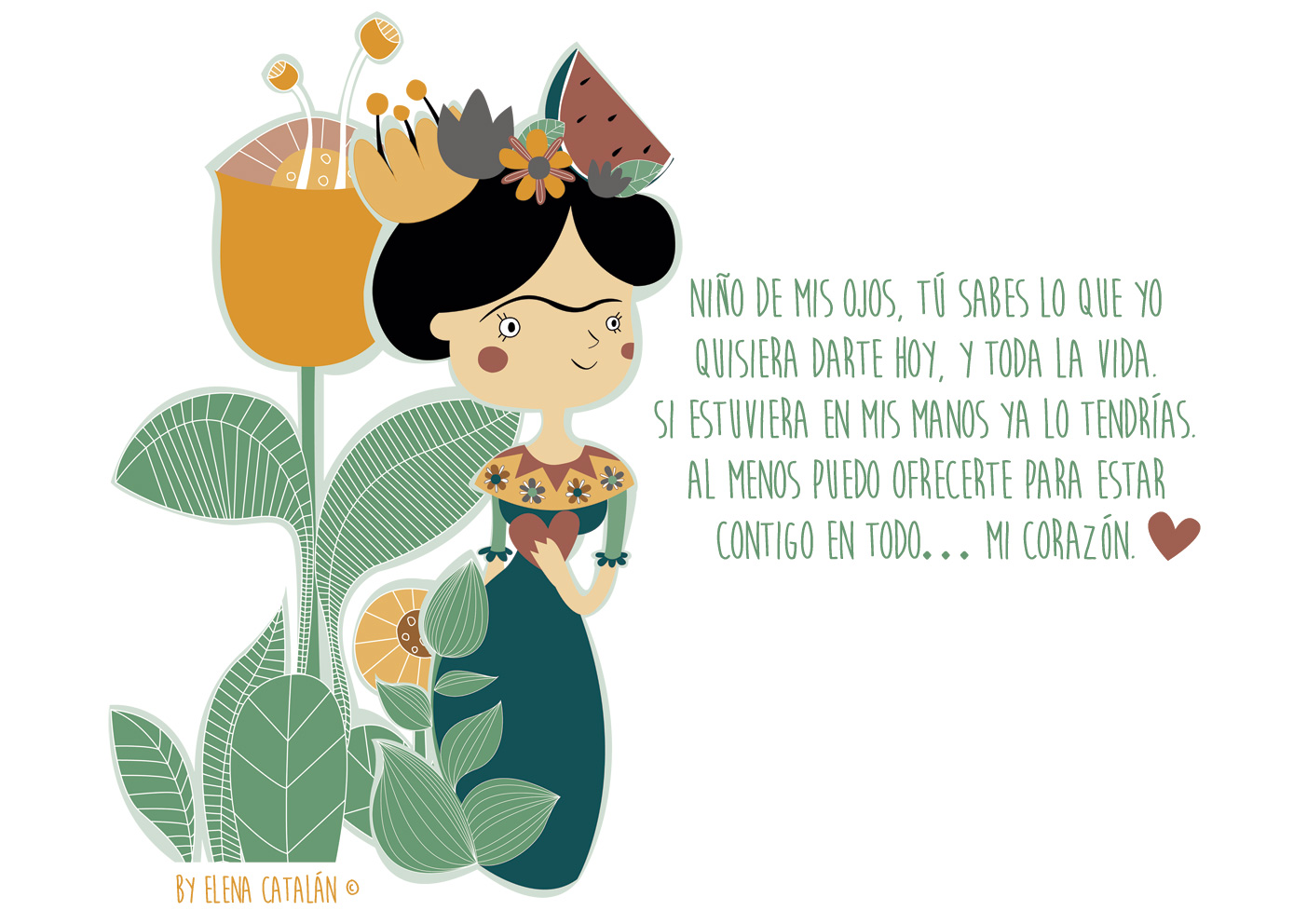 Frida Kahlo Kawaii Para Colorear: El Jardín De Kipuruki: FRIDA KAHLO DATOS CURIOSOS