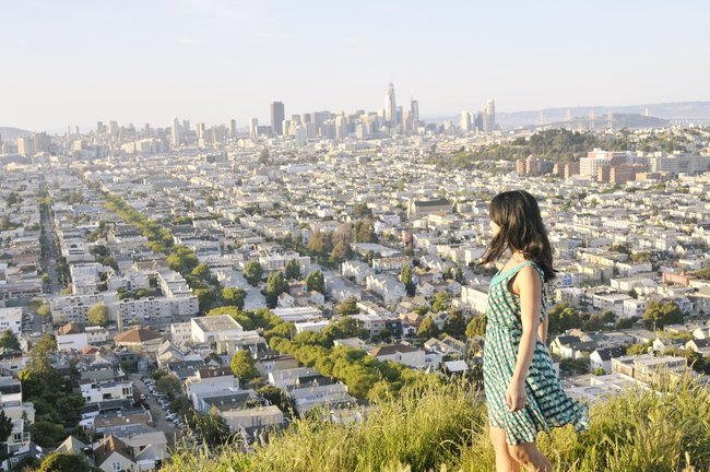 free things to do in San Francisco bernal heights park