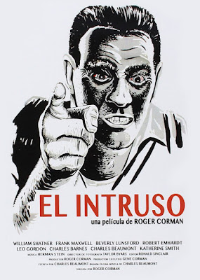 'El Intruso' de Roger Corman - poster
