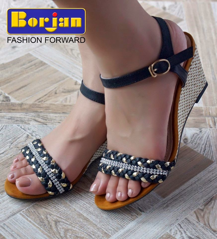 Flat heel sandals images - Tags Summer Wear Shoes Fashionable Shoes For Girls Stylish Flat Slippers High Heels Sandals Borjan Shoes Home And Office Wear Shoes New Designs Of