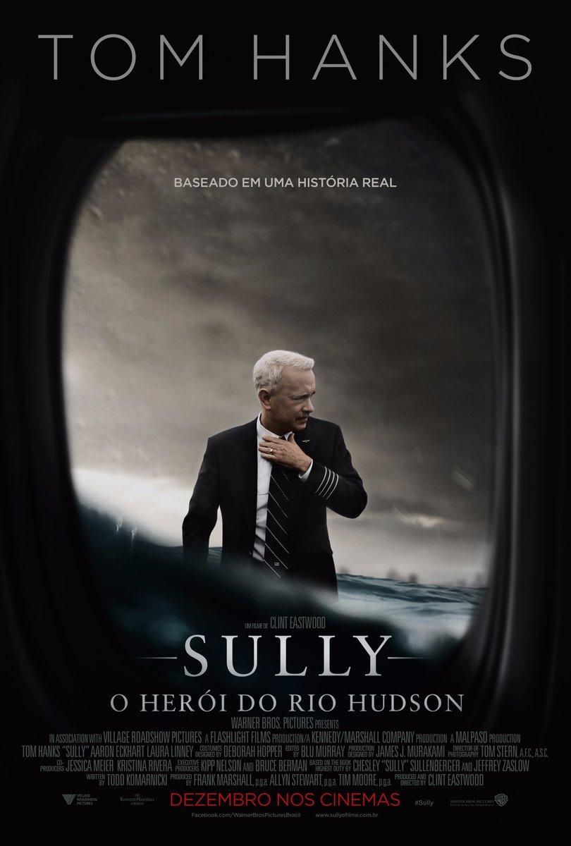 Capa Sully O Herói do Rio Hudson Torrent 720p 1080p 5.1 Dublado Baixar