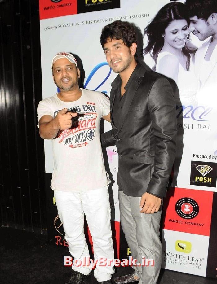 Sajid Ali, Suyyash Rai, 'Khushnuma' Album Launch Pics