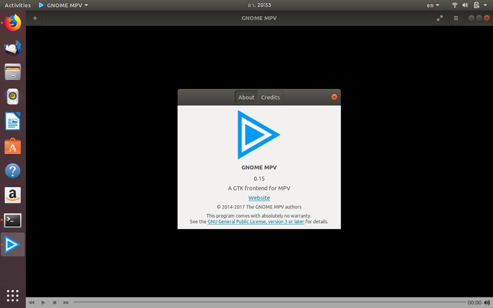 How to install program on Ubuntu: How to install Gnome MPV