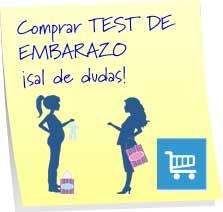 comprar test embarazo