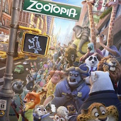 Poster Zootopia 2016